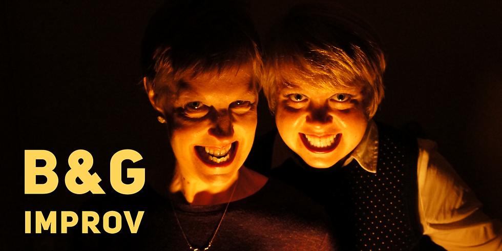 B&G Spooky Improv Show