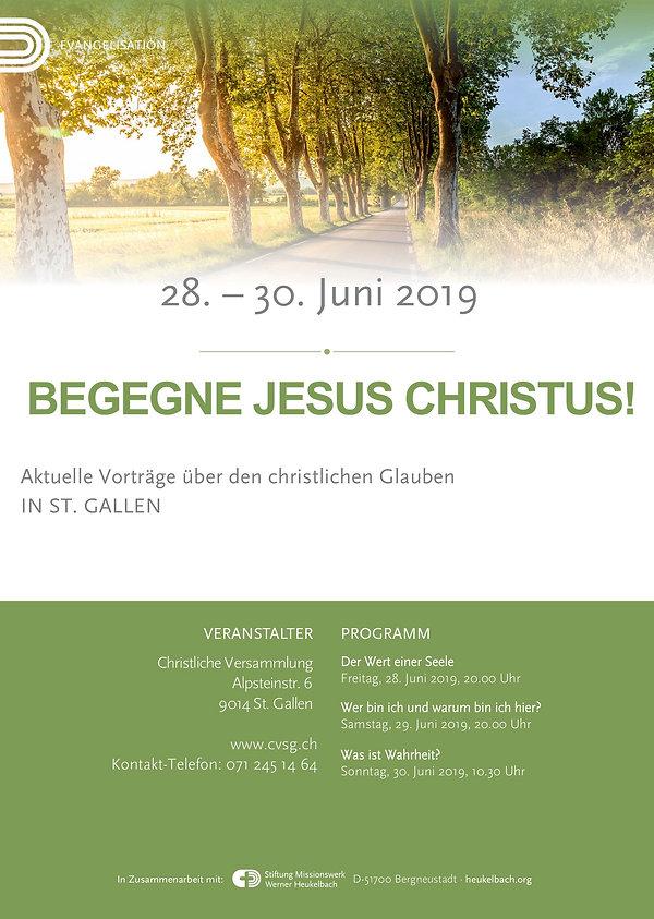Evangelisation 28. - 30. Juni 2019