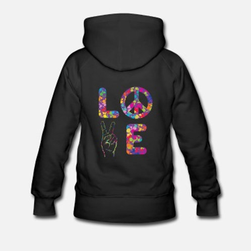 Love Sweat top with Hoodie