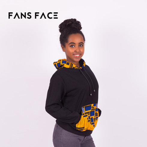 African Black Sweattop