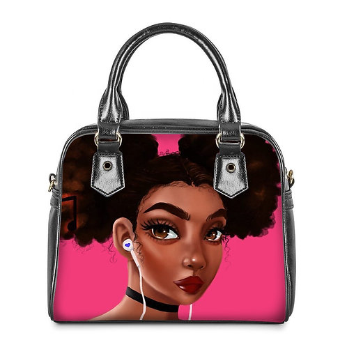 Dark Pink Mini Bag