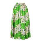 African Green Dress
