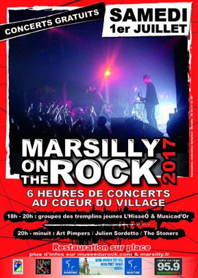 Marsilly on the rock