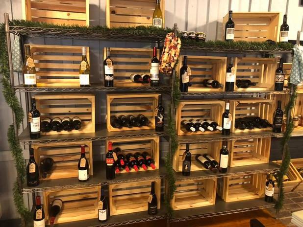 Amazing wine selection