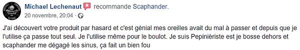 Recommandation scaphander Michael Lechen