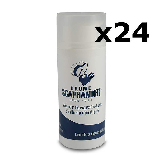 2 présentoirs de 12 tubes 100mL Baume Scaphander