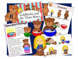 Goldilocks & The Three Bears set
