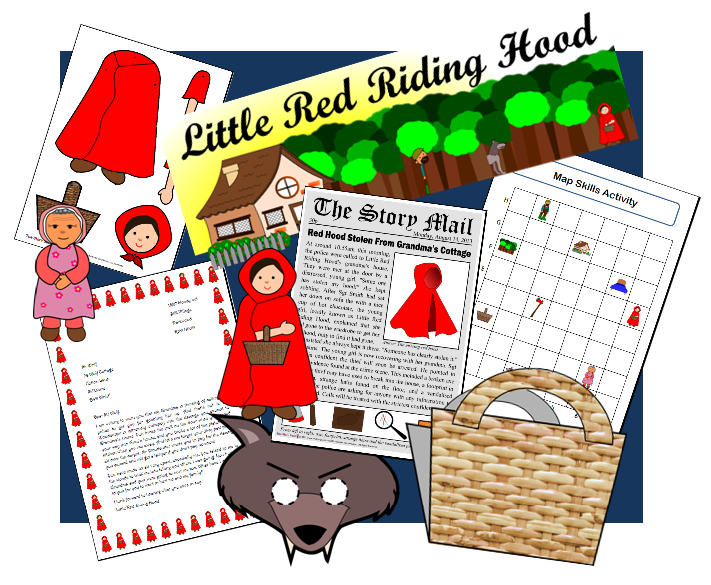 Little Red Riding Hood set
