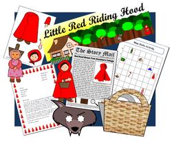 Little Red Riding Hood set