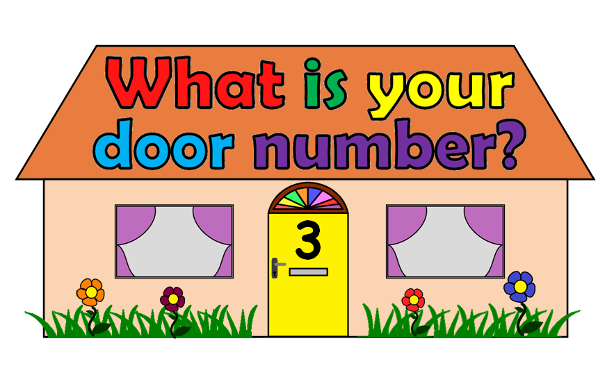 Door Number Banner