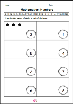 Draw the dots