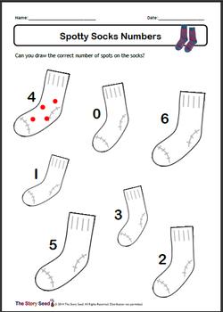Spotty Socks Numbers