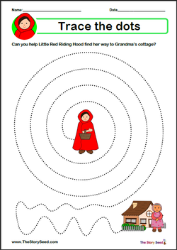 Little Red Riding Hood Tracing