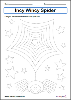 Incy Wincy Spider Tracing