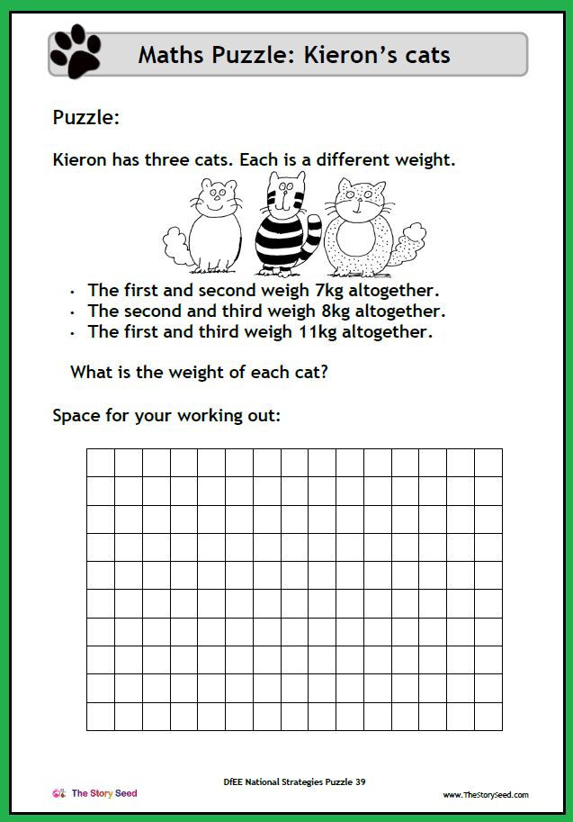 KS2 - Keiron's Cats PDF (2 of 2)