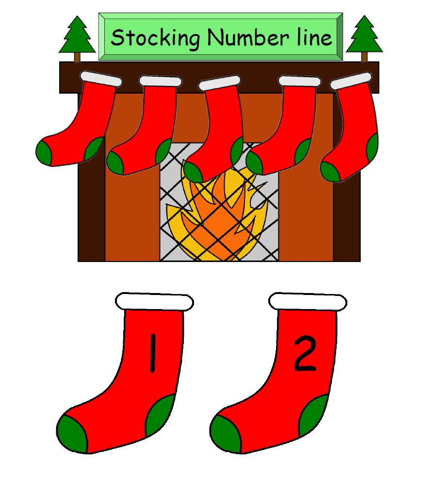 Number Line: Stocking