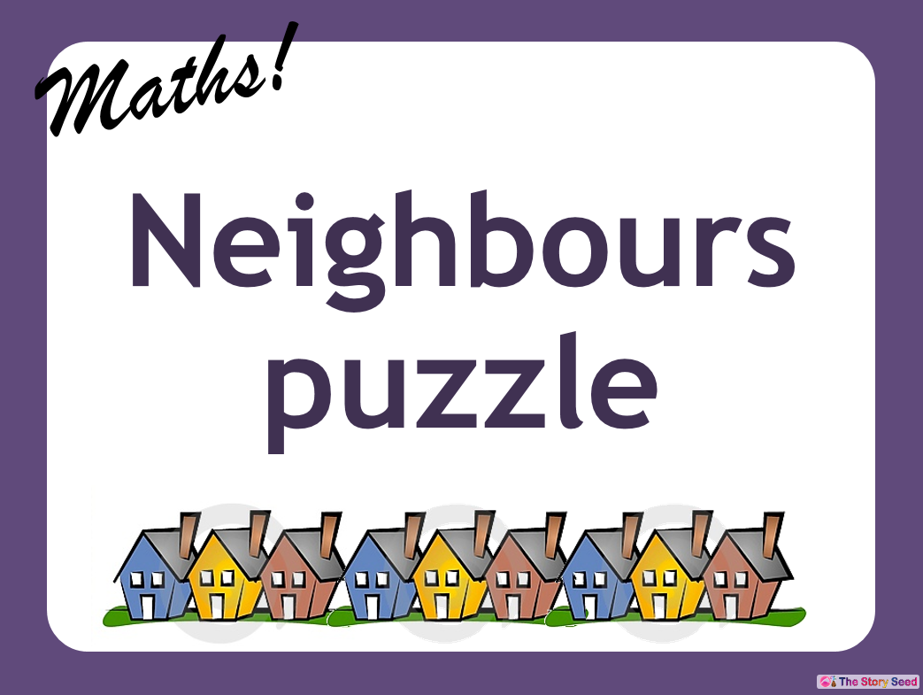KS2 - Neighbours puzzle PPT (1 of 2)
