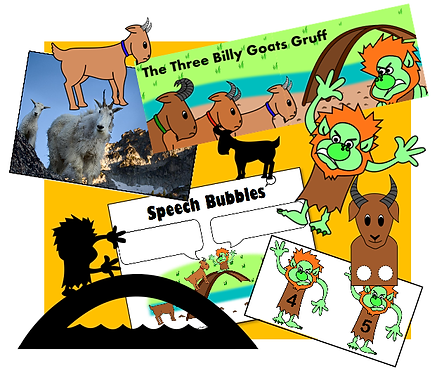 The Billy Goats Gruff - Complete Resource Pack!