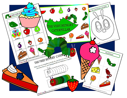 The Very Hungry Caterpillar - Complete Resource Pack!