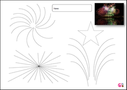 Fireworks Tracing