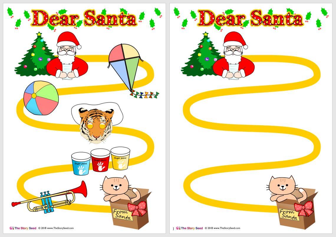 Dear Santa Map