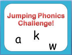Jumping Phonics Power Point