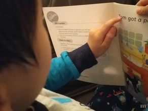 How can I teach my child to read at home?
