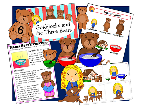 Goldilocks and the Three Bears - Complete Resource Pack!