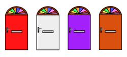 Door Number Banners