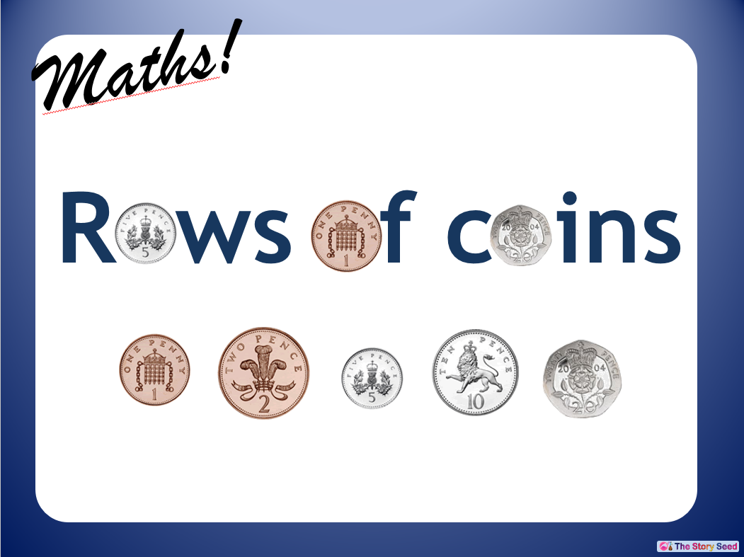 KS2 - Rows of Coins PPT (1 of 2)