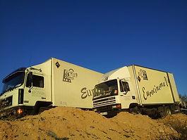 Transporte audiovisual y motor home