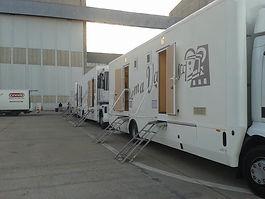 Transporte cinematográfico y motor home