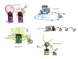Weapons - Barrel Designs