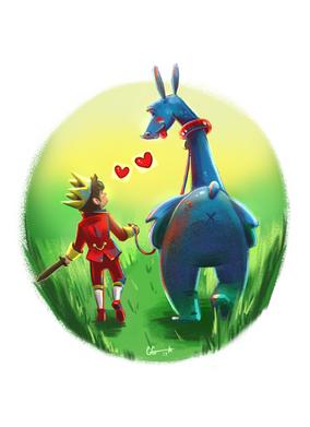 The Prince & His Dragon