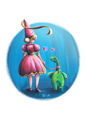 The Princess & Her Dragon
