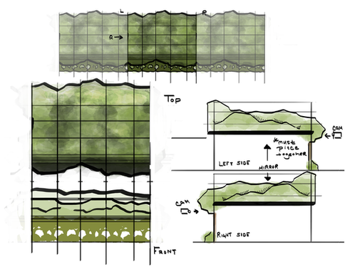Background Canopy Layout