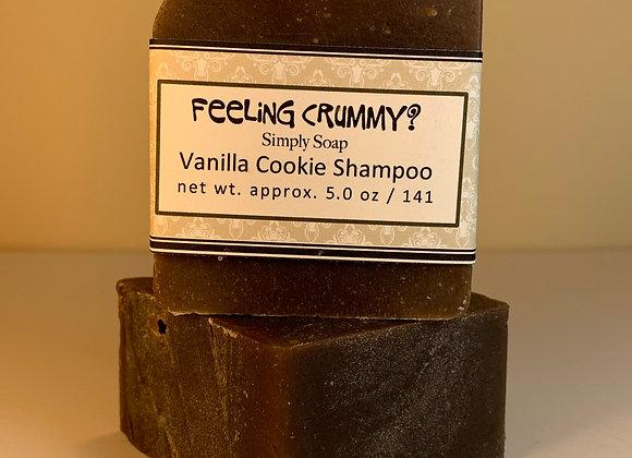 FEELING CRUMMY? Vanilla Cookie Shampoo Bar