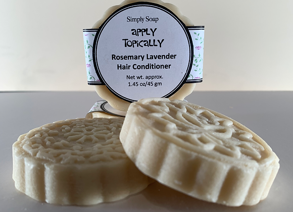 """APPLY TOPICALLY""   Hair Conditioner Bar"