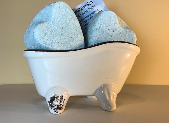 """""""SOAK IN WARM WATER""""   Simply Soap  Bath Truffle"""