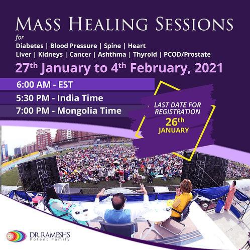 DRPF Mass Healing Sessions