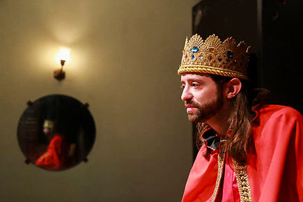 King Dick (King) Rehearsal 2 (photo by N