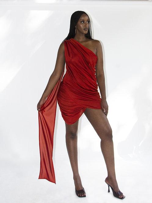 THE OCRE MAHARANI DRESS