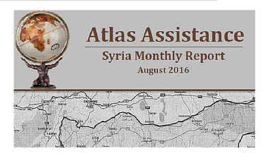 Official launch - Syria Monthly Report