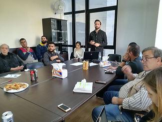 Briefing to SLT members in Lebanon