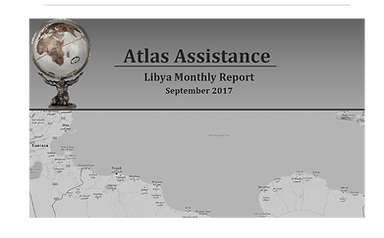 Official launch - Libya Monthly Report
