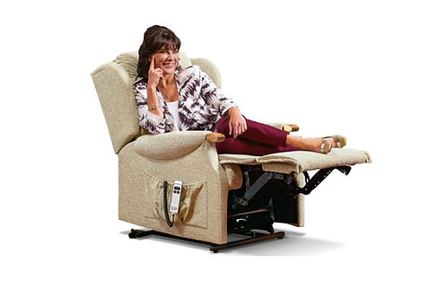 LYNTON KNUCKLE SMALL FABRIC ELECTRIC RISER RECLINER