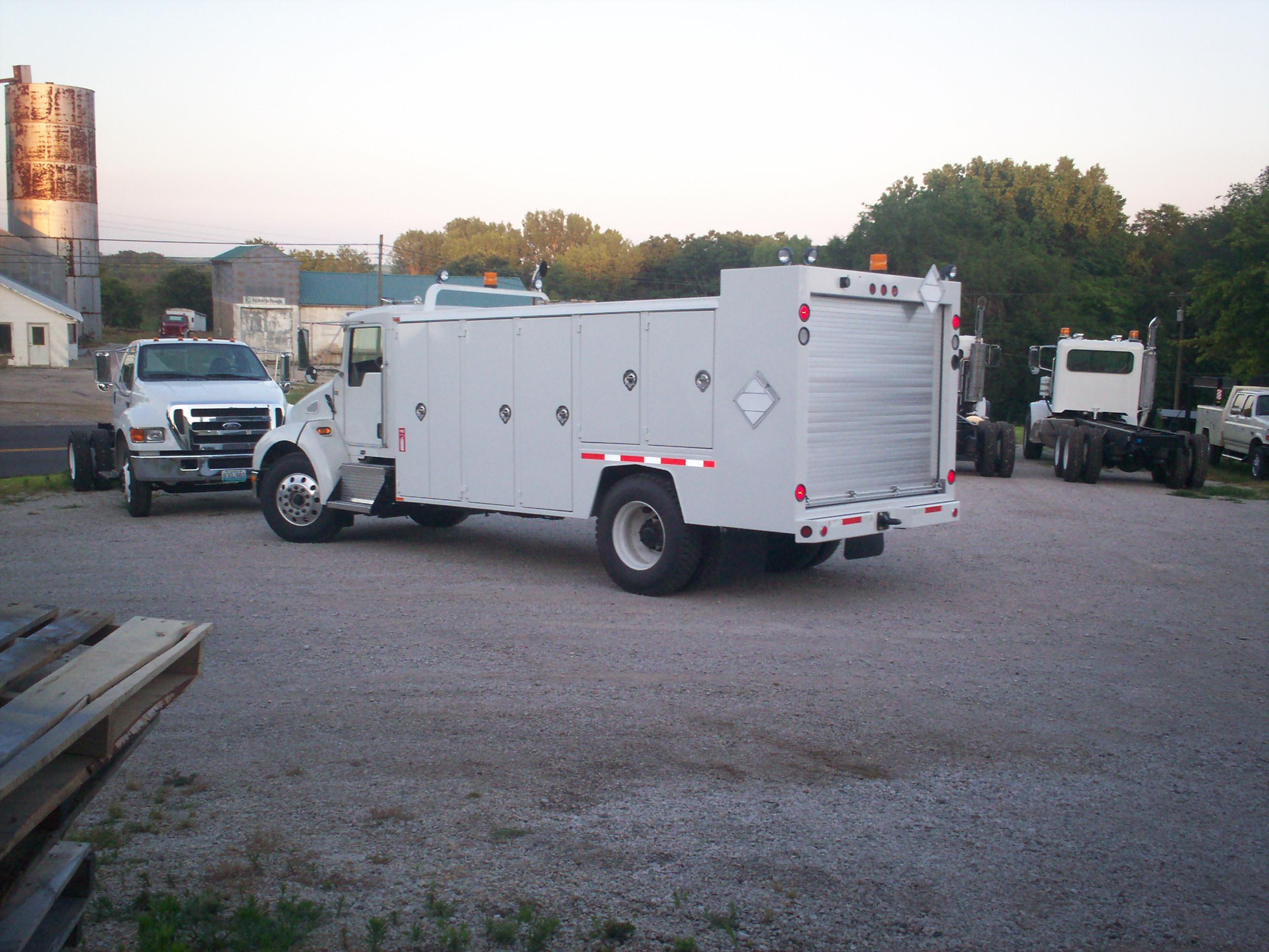 Lube Truck Street Side rear