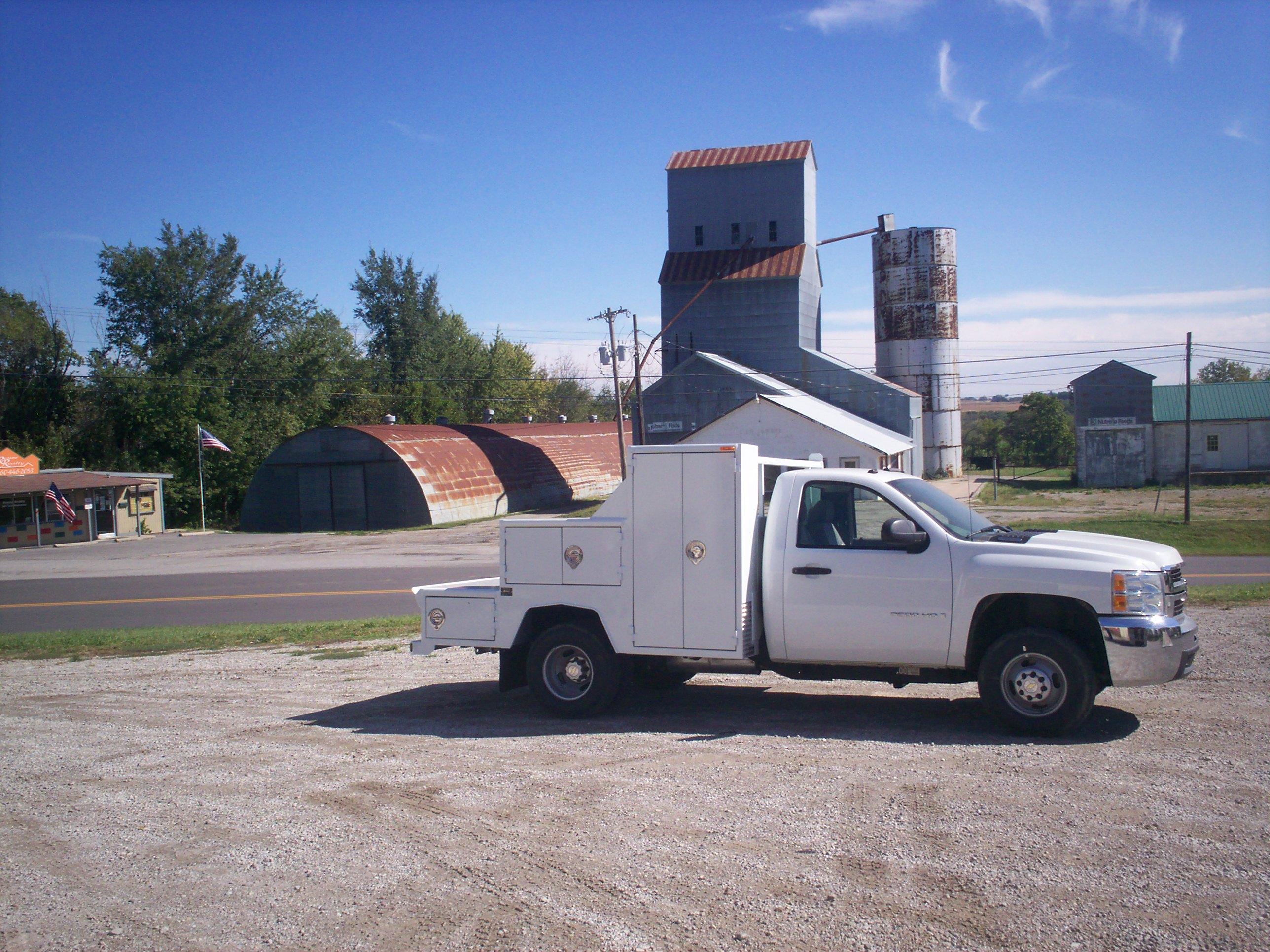 60 Cab to Axle Welding Body