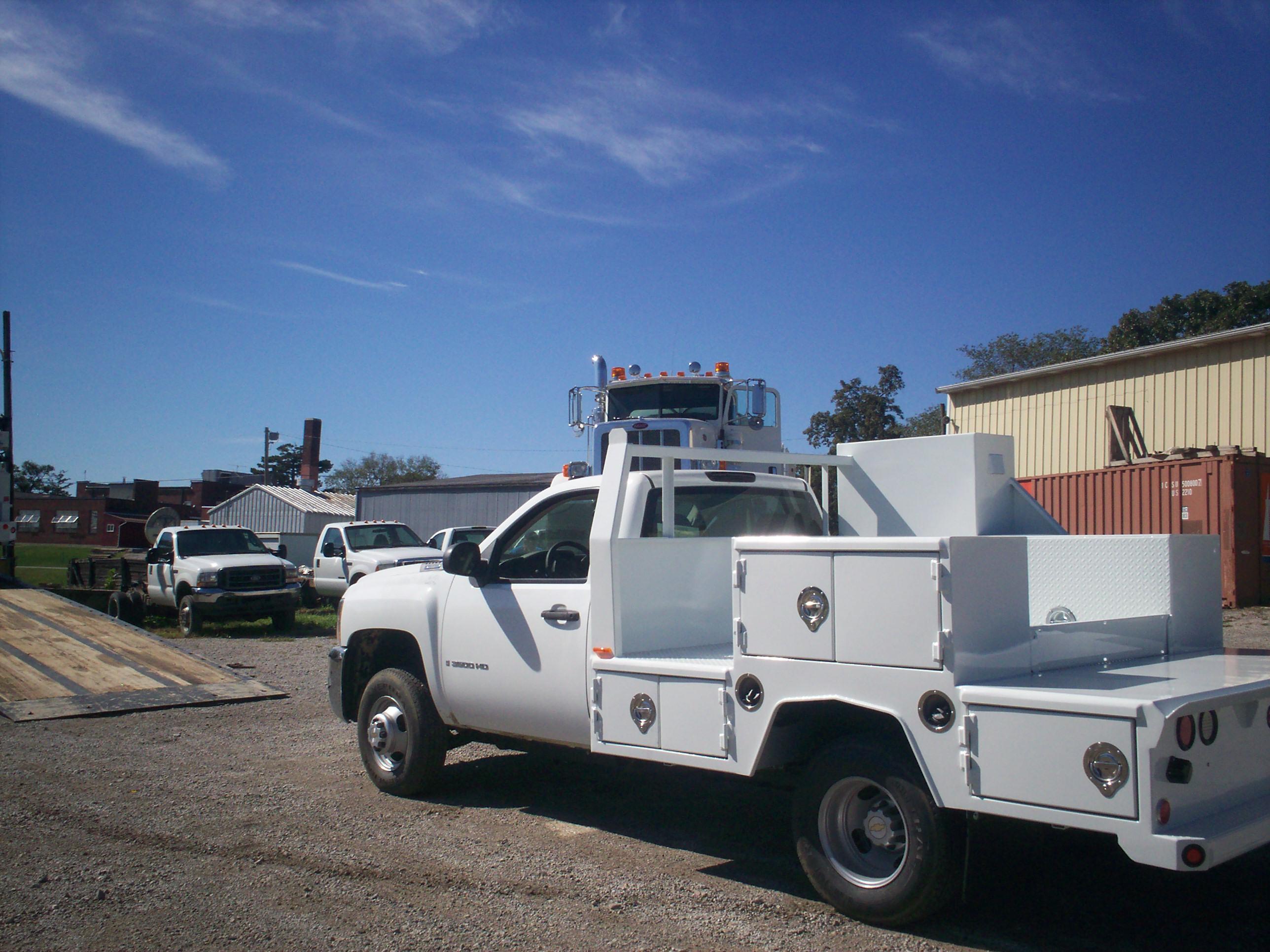 60 Cab to axle welding body Street Side