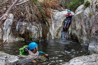 Faire du Canyoning en eaux chaudes